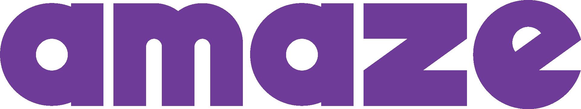 Logo for AMAZE
